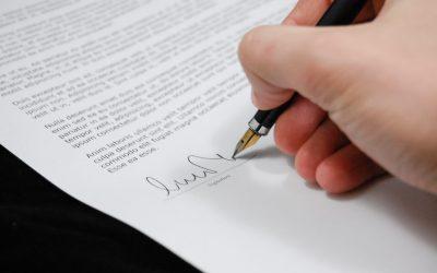 Lettre de résiliation du mandat de vente